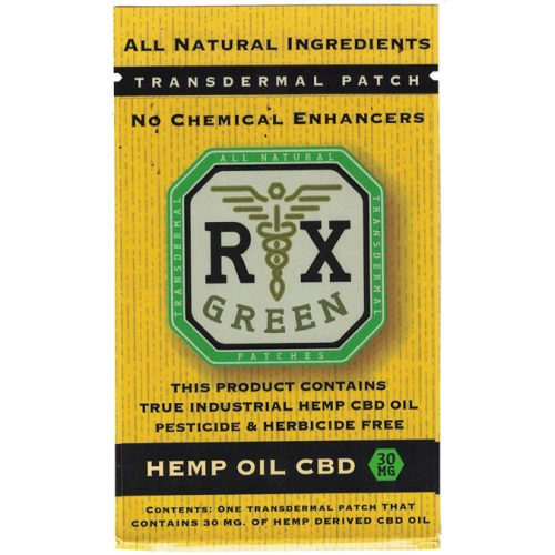 Buy-CBD-Oil-Online-Hemp-RX-Green-hemp-patch