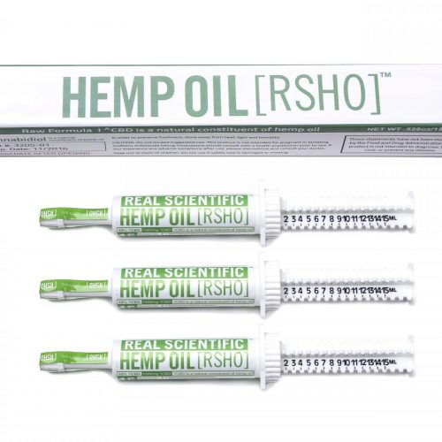 real scientific hemp oil cbd green label 10g 1500mg 3 pack