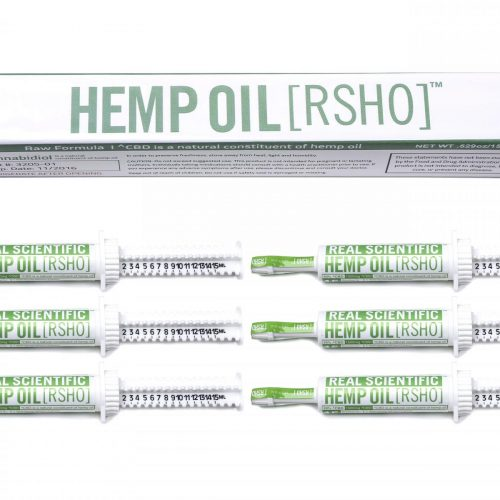 real scientific hemp oil cbd green label 10g 1500mg 6 pack