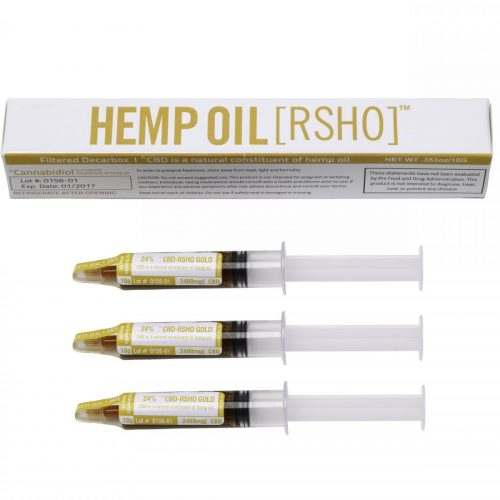 real scientific hemp oil gold label cbd 10g 2400mg 3 pack