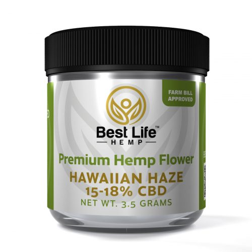 Best Life Hemp Smokable Hemp Flower Hawaiian Haze CBD