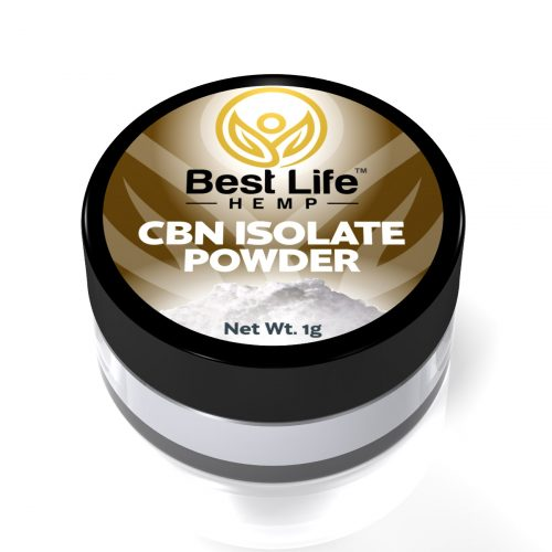 Best Life Hemp CBN Isolate Powder